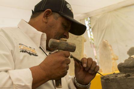 Nieves Montalvo Hernandez viene por parte del Instituto de la Cantera y realiza esta practica desde su infancia.