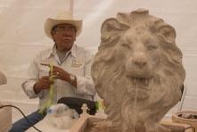 Dentro de las piezas que se encuentran en la exposición son traídas desde la ciudad de Toluca